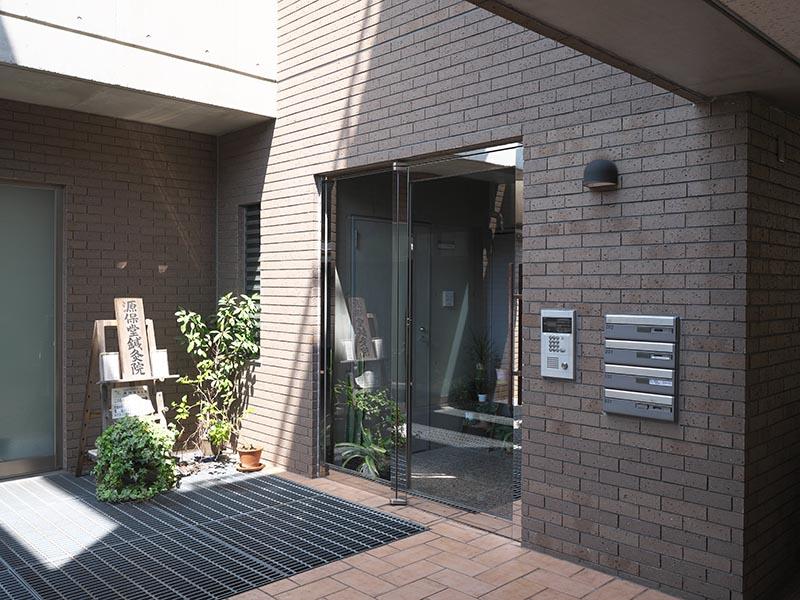 薬戸金堂の入口 (C)イスクラの漢方薬のご購入は、表参道・青山・原宿・渋谷エリアにある漢方薬店・薬戸金堂へ